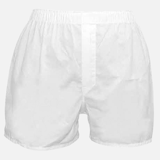carbon footprint - white Boxer Shorts