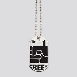 Free The Slaves logo Dog Tags