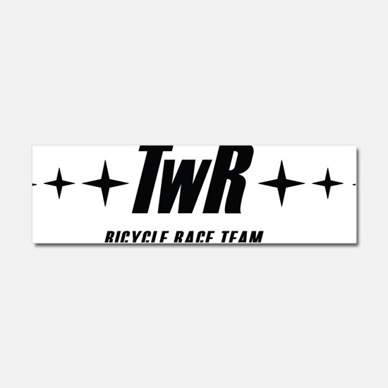 TWR Racing white Car Magnet 10 x 3
