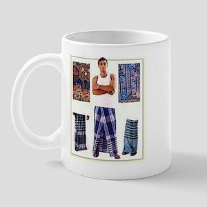 lungi man Mug