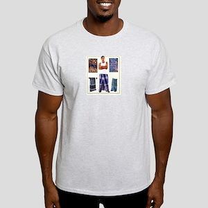 lungi man Ash Grey T-Shirt