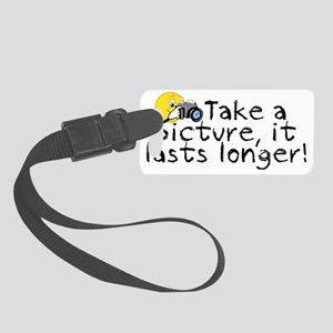 Take a Picture Small Luggage Tag