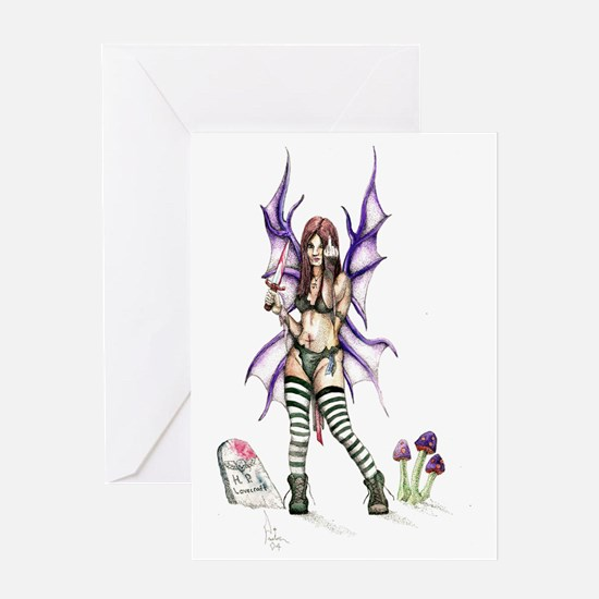 Fairywithboots Greeting Card