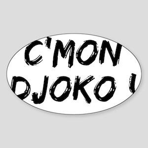 CMON DJOKO Sticker (Oval)