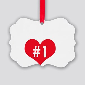 NOLE number one Picture Ornament