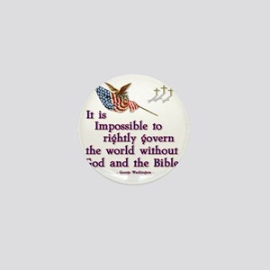 god and the bible Mini Button
