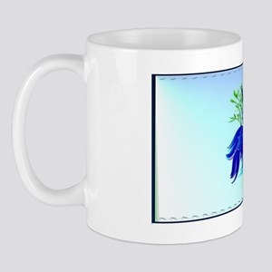 PatchBig Blue Siamese Fighting Fish Mug