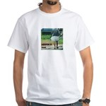 keepin it real lungi White T-Shirt