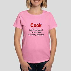 Cook Culinary Artisan Women's Dark T-Shirt