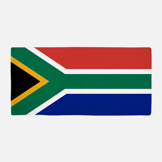 Flag of South Africa Beach Towel