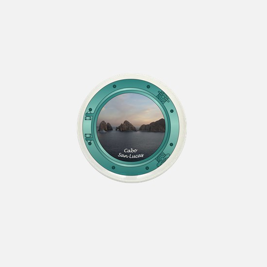 Cabo-Porthole Mini Button
