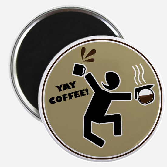 yay coffee Magnet