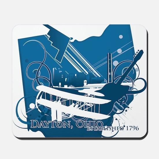 dayton logo Mousepad