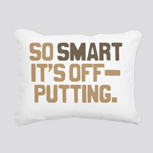 off-putting Rectangular Canvas Pillow