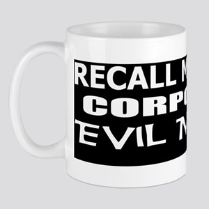 McConnell-Corporate Evil Minion bumper  Mug