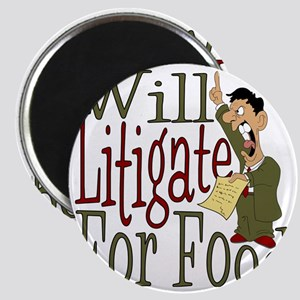 Will Litigate Magnet