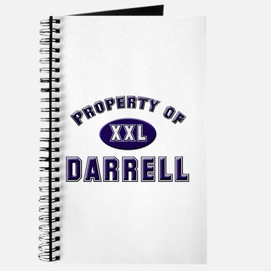 Property of darrell Journal