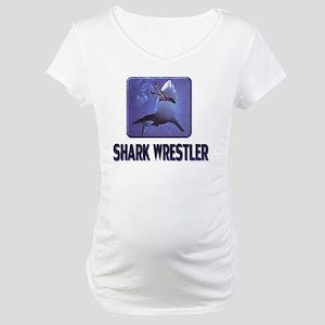 sharkwrestler01 Maternity T-Shirt