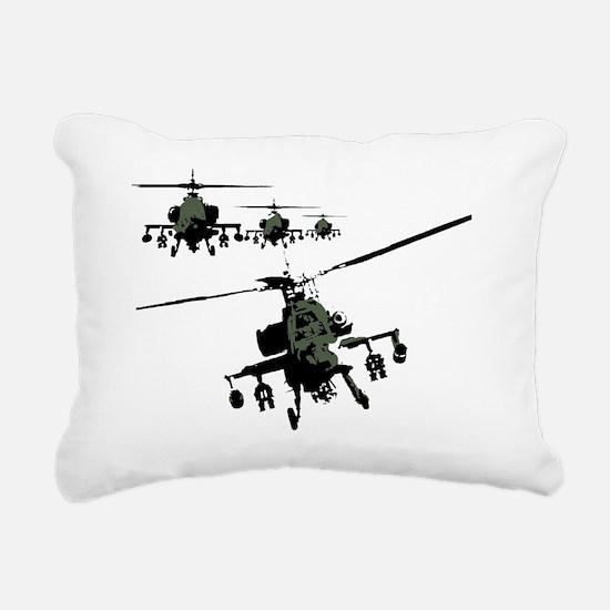 banksy apache Rectangular Canvas Pillow