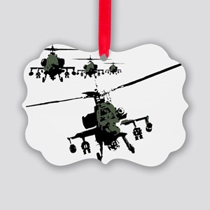 banksy apache Picture Ornament