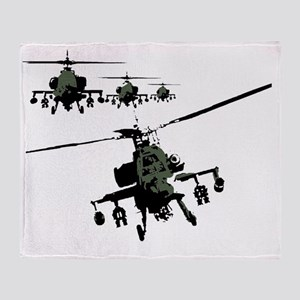 banksy apache Throw Blanket