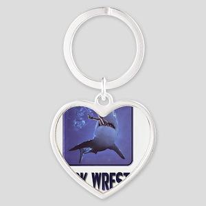 sharkwrestler01 Heart Keychain