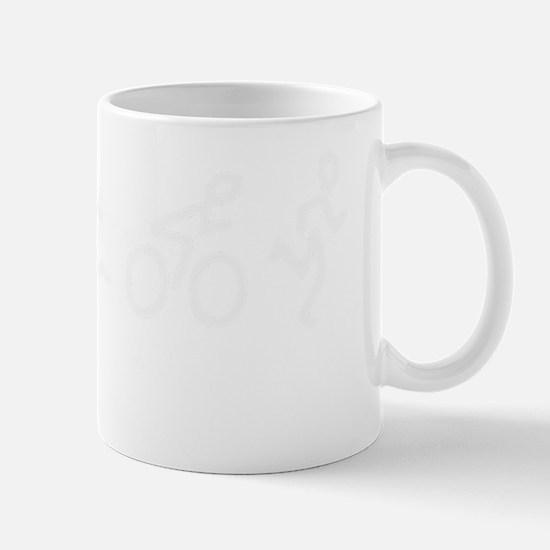 Evolution_Tri_wht Mug