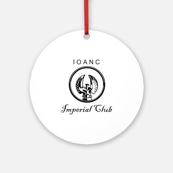 Club Logo.gif Round Ornament