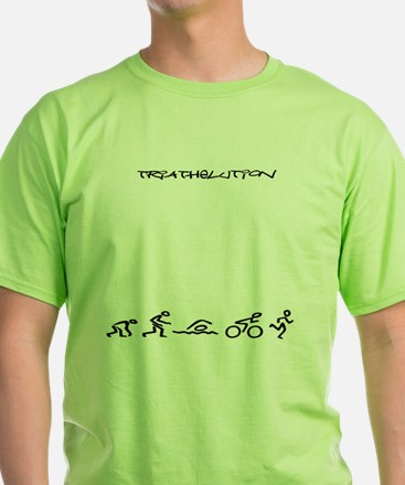 Evolution_Triathlution_lincenseplate T-Shirt