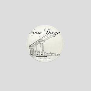 SanDiego_10x10_CoronadoBridge_Black Mini Button
