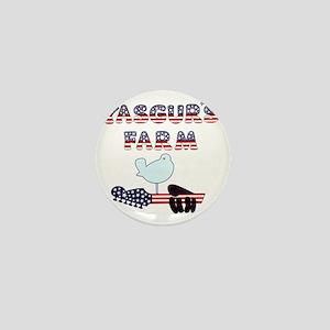 Patriotic Hendrix Logo copy Mini Button