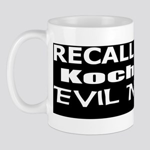 Perry -Koch Oil Evil Minion bumper stic Mug