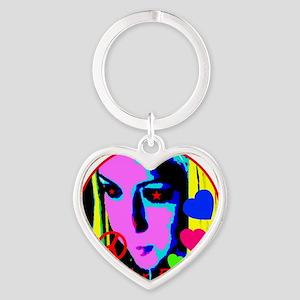 sex_ed Heart Keychain