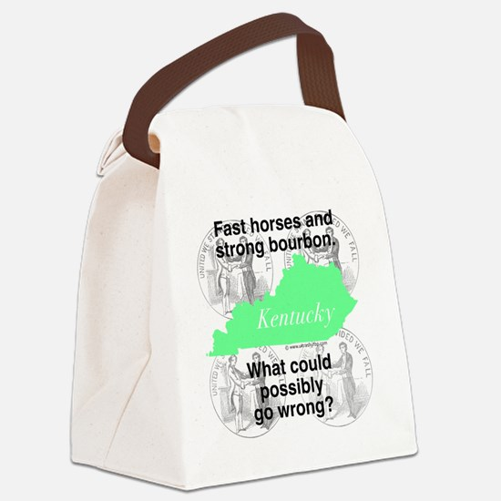 Kentucky Canvas Lunch Bag