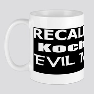 Ryan -Koch Oil Evil Minion bumper stick Mug