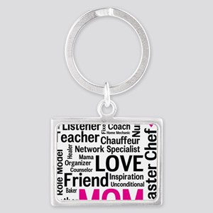 Mothers Day - Everything Mom Do Landscape Keychain