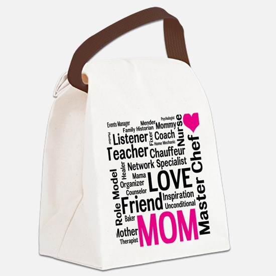 Mothers Day - Everything Mom Does Canvas Lunch Bag