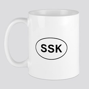 Knitting - SSK Mug