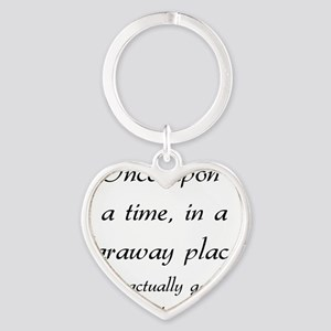 once upon a time Heart Keychain