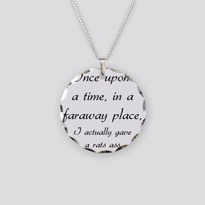 once upon a time Necklace Circle Charm