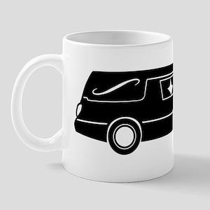 hearse_bw Mug