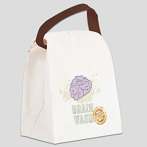 Brain Wash Canvas Lunch Bag