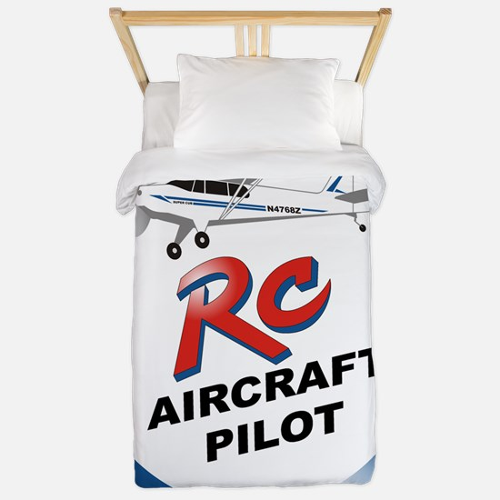 RC aircraft  pilot  Twin Duvet