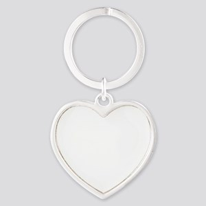 stop pissing me off inverted Heart Keychain
