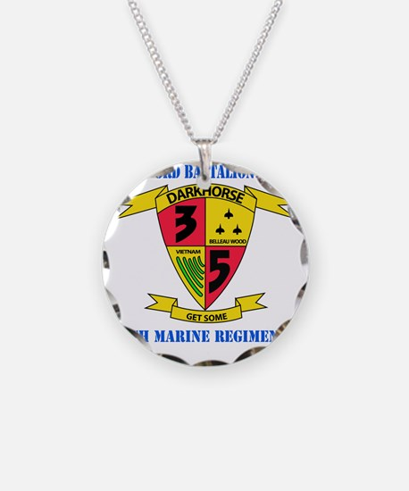 SSI - 5TH MARINE RGT-3RD BN  Necklace