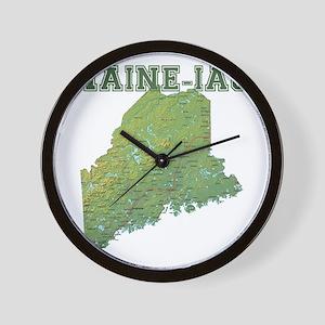 Main-e-ac Wall Clock