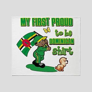 dominican Throw Blanket