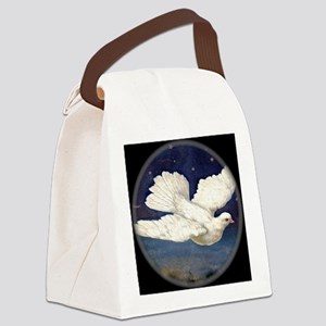 Dove of Peace Canvas Lunch Bag