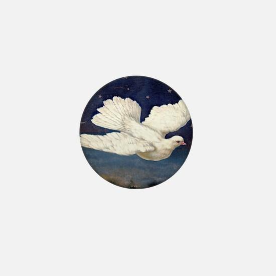 Dove of Peace Mini Button