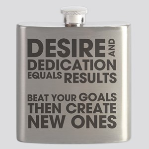 DESIRES-AND-DEDICATION Flask